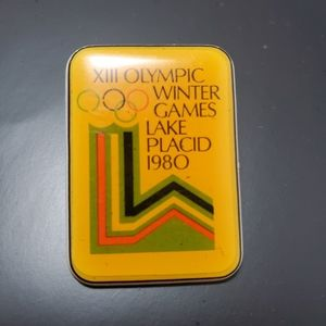 Vintage 1980 XIII Olympic Winter Games Lake Placid